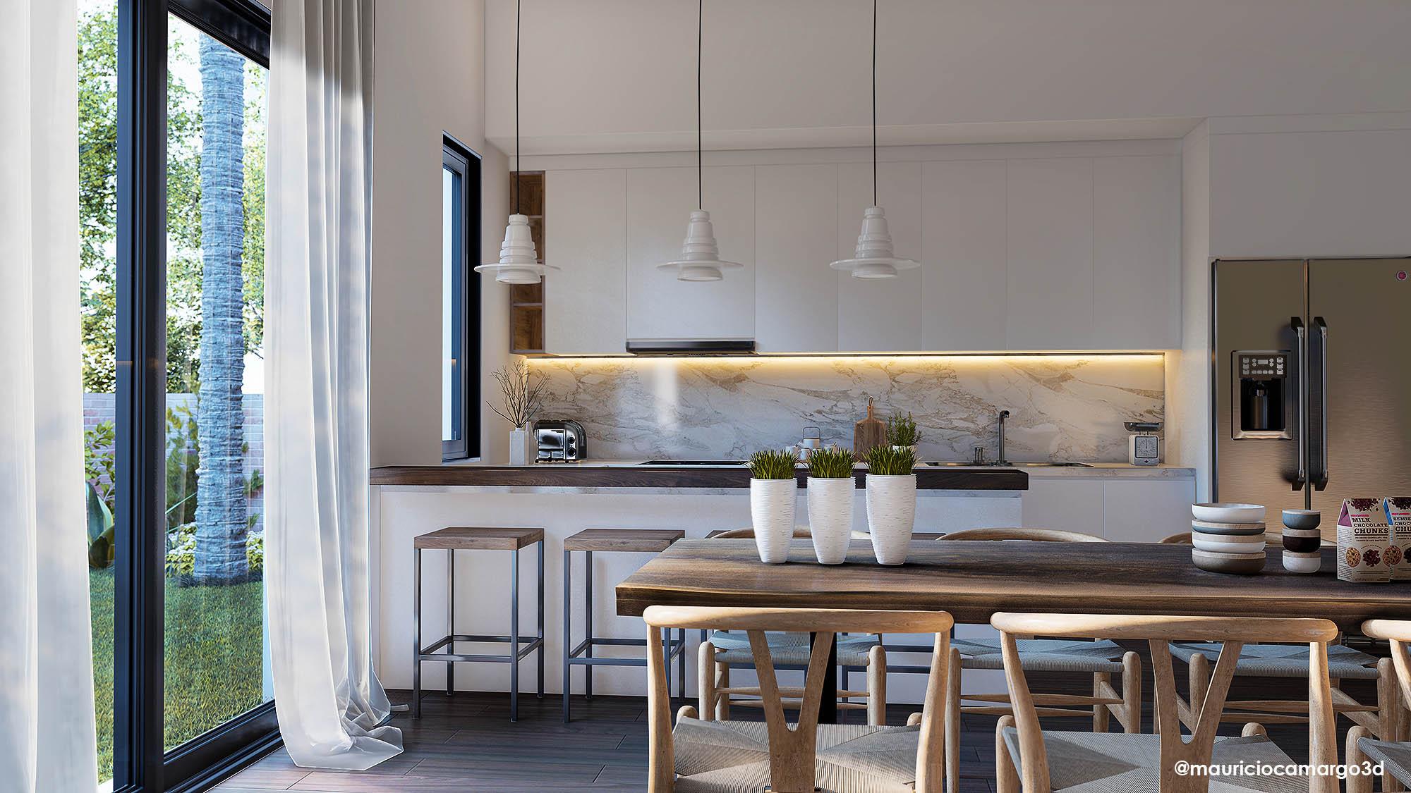 Cozinha Lumion site