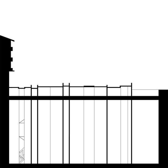 Corte e Planta de Seção Urbana_Antes