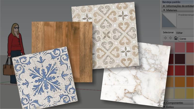 Read more about the article Como usar Materiais diferentes no SketchUp